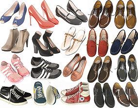 3D Large Shoe Collection