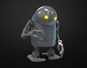 Nier Automata - Small stubby Robot 3D print model