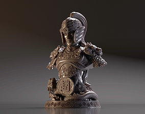Bust of Zhao Yun - Romance of the Three 3D printable model