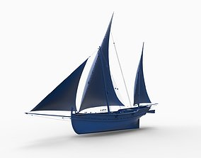 3D print model ship mod14