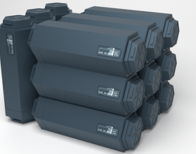 3D printable model Star Wars First Order crate - 2