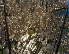 3D City A1 Night