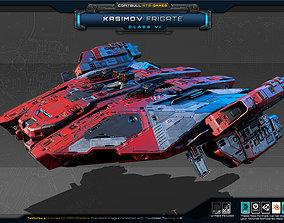 3D model RTS Games - Kasimov Frigate - Class VI