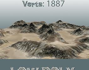 Desert Rock Circ B 300315 3D model