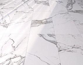 3D model Marble Floor Eternal White Set 1
