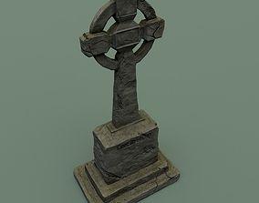 Celtic grave 3D model
