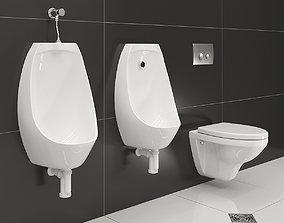 3D model Set for a washroom of Rosa and Jacob Delafon