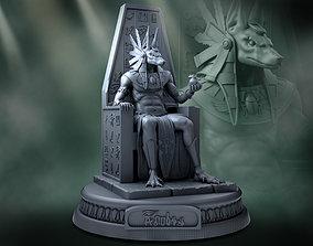 3D print model dead Anubis