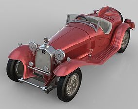 Old Car 3D model realtime