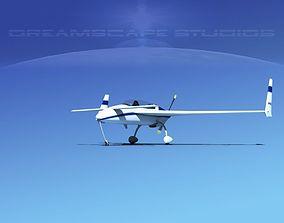 3D model Rutan Long-EZ V04