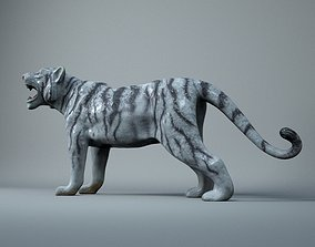 Scan - White Tiger Toy 3D