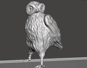 3D print model Owl figure