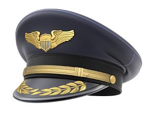 Pilot Hat 3D