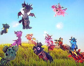 Little Dragons Mouse 3D asset