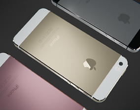 electronic 3D model iPhone 5s
