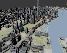 street Toronto Topography Street 3d Map