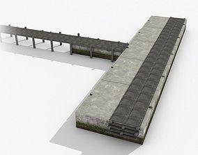 3D asset Pier 01