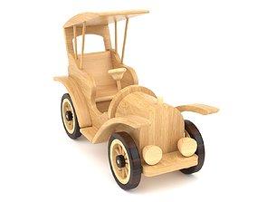 3D Wooden toy car 36