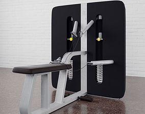 3D model Gym equipment 11 am169