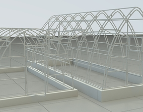 Greenhouse warehouse 3D