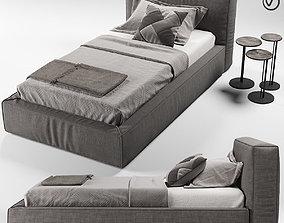 FLEXTEAM SLIM ONE bed single 3D model