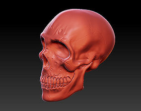 skull head 3D print model