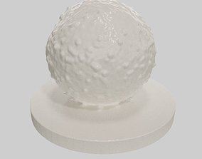 Lymphocyte cell 3D printable model