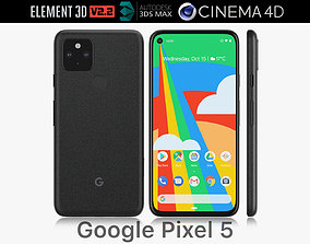 3D Google Pixel 5