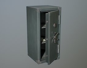 3D model Safebox locker medium Game-ready