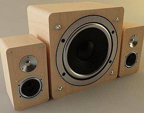 3D model Speakers
