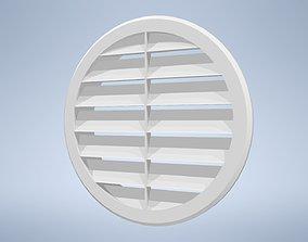 3D model Facade air vent FI 100 PVC VAFRA