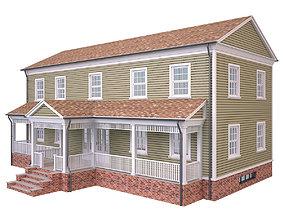 House 3 3D asset VR / AR ready