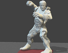3D print model The Incredible Hulk toy soldier figure