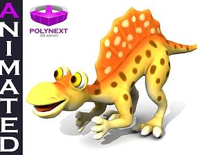 Cartoon Spinosaurus 3D asset