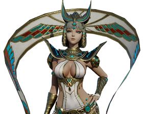 Cleopatra Character 3D asset