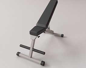 3D model Exercise Bench