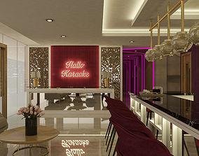 Lobby Karaoke 3D model hallo