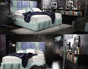3D model Felis Tiffany bed