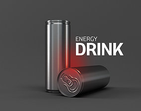 3D Energy Drink bank