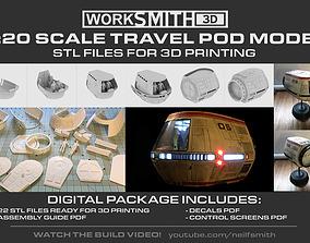 startrek Star Trek TravelPod model kit