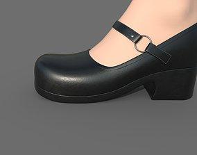 Platform Shoe 3D model