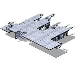 3D model Future City - Universe City 03