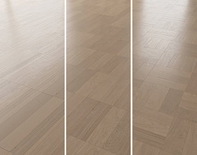 Parquet Oak Canna Brushed set 3 3D