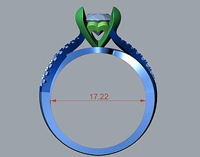 ENGAGEMENT RING STL AND 8