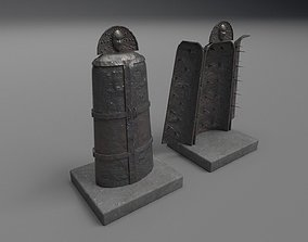 3D Iron maiden PBR