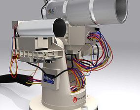 3D model Laser Weapon System US Navy