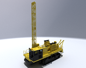 Rotary Drill 3D model
