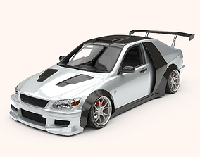 Toyota Altezza Stance Version 3D asset