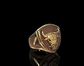 Ring Chicago Bulls 3D print model