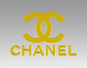 3D Chanel logo
